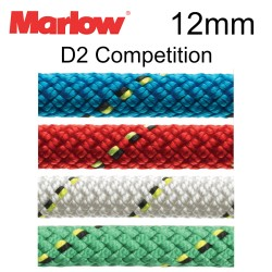 Marlow 12mm D2 Competition - Sheets, Halyards, Control Lines