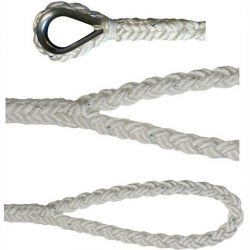 LIROS 24mm Anchorplait/Octoplait Y Shape Mooring and Anchoring Bridle