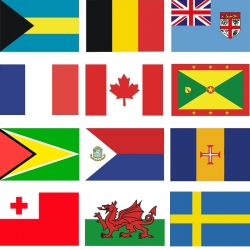 Courtesy Flags