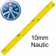 100 metre Hank Deal Liros 8 Plait Floating Safety Rope 10mm