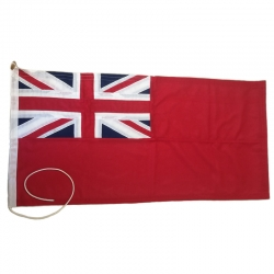 Premium Sewn Ensigns - Red and Blue