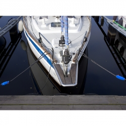 Q Stems Mooring Springs in use
