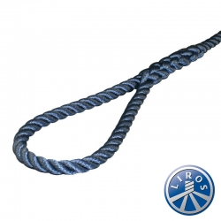 LIROS 14mm 3 Strand Polyester Mooring and Anchoring Warps