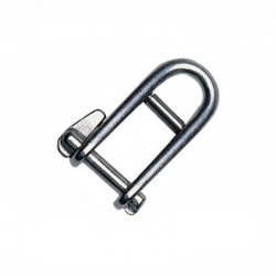 Standard Captive, Key Pin Shackle with Bar