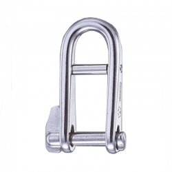 Wichard Captive, Key Pin Shackle with Bar