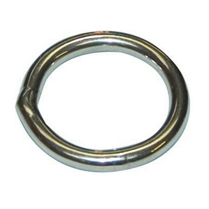Stainless steel electro polished rings