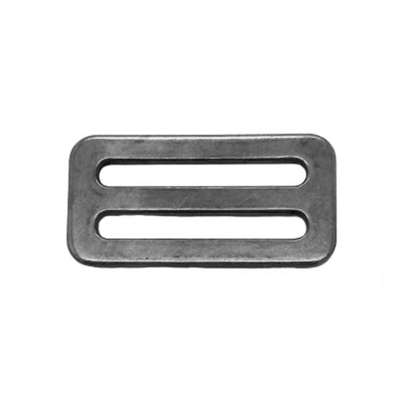 Stainless Steel 3 bar slide buckle - 25mm webbing