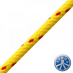 LIROS 6mm Hollow Braid Floating Polypropylene Safety Rope