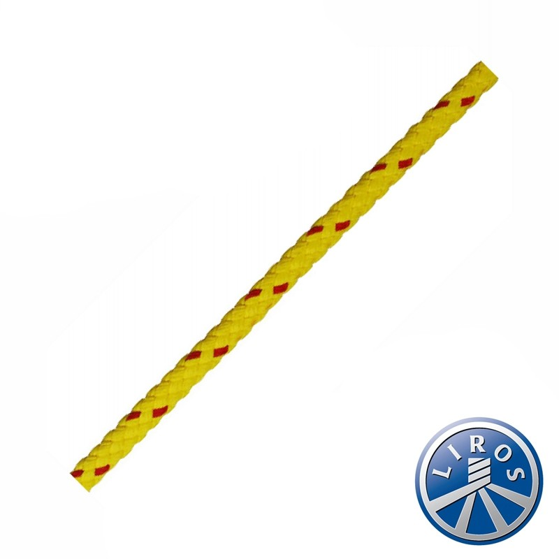 50 metre Hank Deal Liros 8 Plait Floating Safety Rope