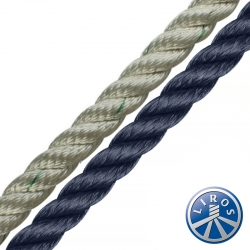 LIROS 10mm 3 Strand Nylon Mooring and Anchoring Warps