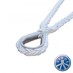 LIROS 20mm Octoplait Nylon V shape Mooring Bridle