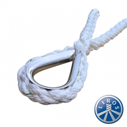 LIROS 24mm Octoplait Nylon V shape Mooring Bridle