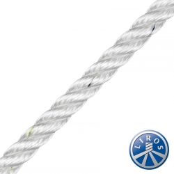 LIROS 12mm 3 Strand Prestretched Polyester