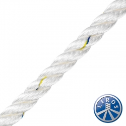 LIROS 8mm 3 Strand Prestretched Polyester