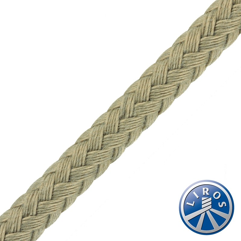 100 metre Reel Deal - LIROS Classic Matt Plait Polyester