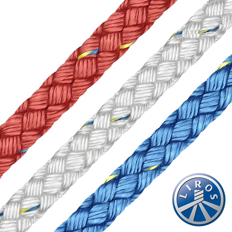 LIROS 8 Plait Prestretched Polyester - 50m Hank Deal