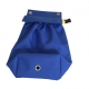 Halyard Bag Blue - base of bag with drainage eyelet