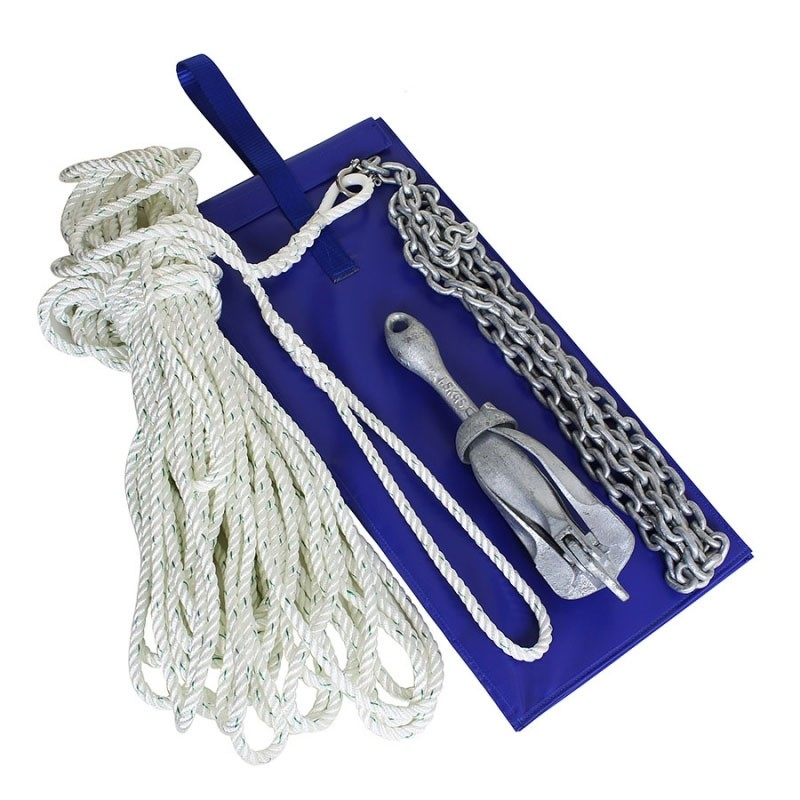 DINGHY /DAYBOAT ANCHORING KIT IN WALLET