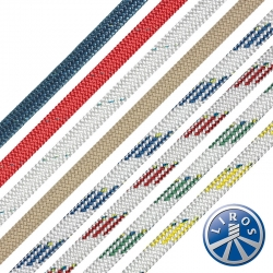 LIROS 8mm Dynamic Plus Dyneema - Sheets, Halyards, Control Lines