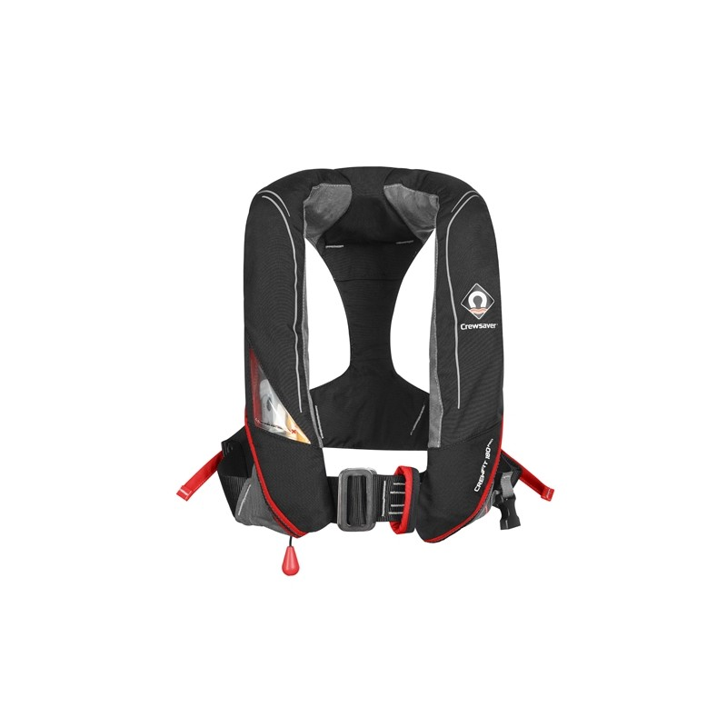 Crewsaver Crewfit 180N Pro Lifejacket Black/Red