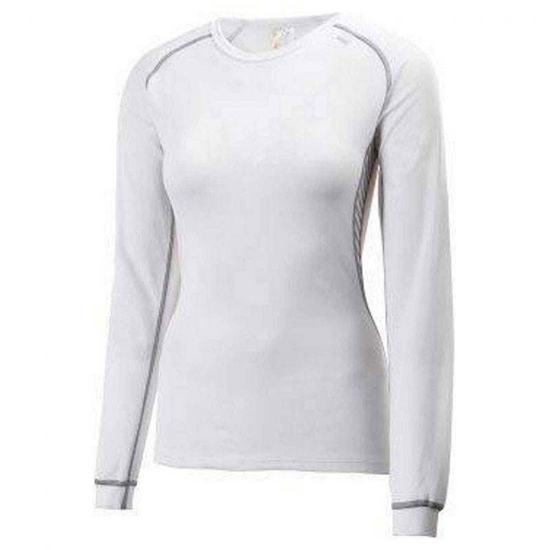 Helly Hansen Women's Lifa Dry Dynamic Crew White