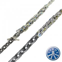LIROS 10mm Anchorplait Nylon Spliced to 6mm Chain