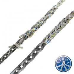 LIROS 12mm Anchorplait Nylon Spliced to 7mm Chain