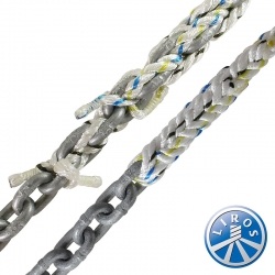 LIROS 18mm Anchorplait Nylon Spliced to 10mm Chain