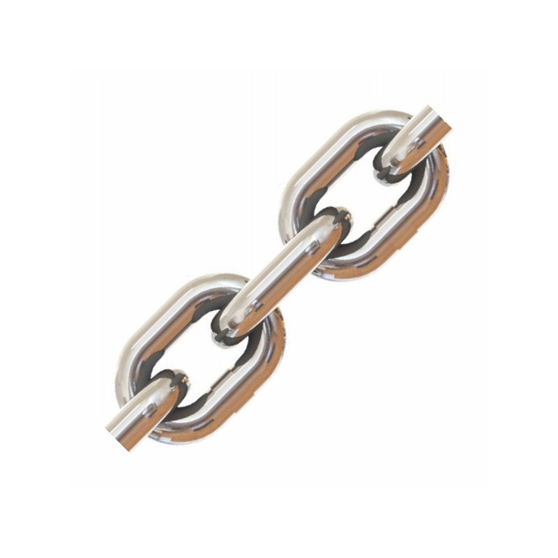 8mm DIN766 G3 Stainless Steel Calibrated Anchor Chain 316L
