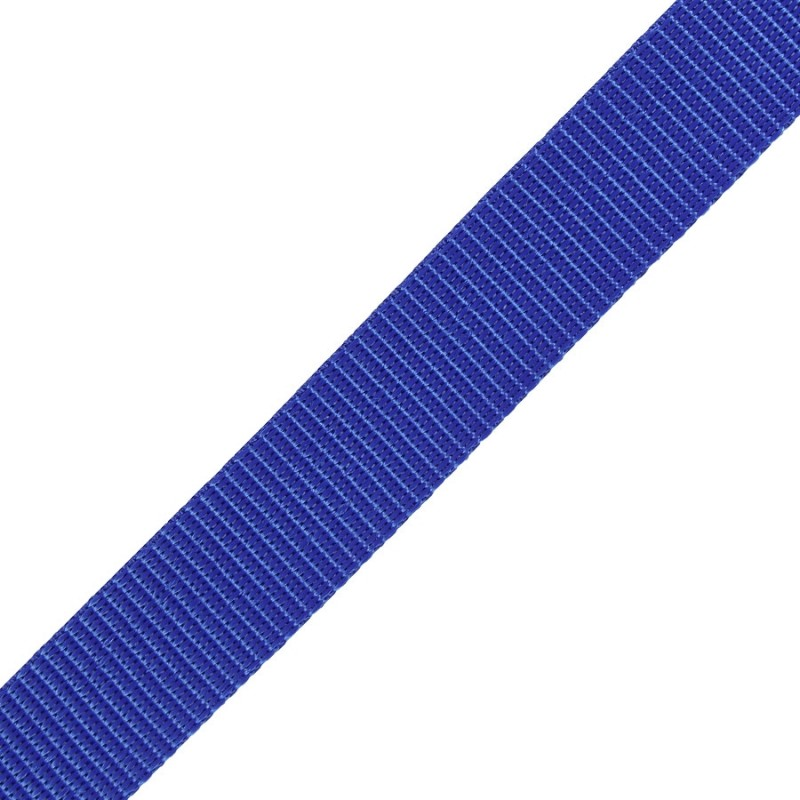 Polypropylene Webbing BLUE