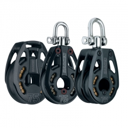 Harken 75mm Black Magic Blocks