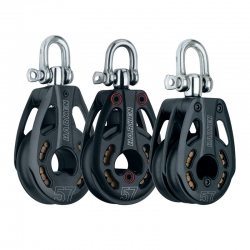 Harken 57mm Black Magic Blocks