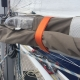 Jimmy Green velcro on webbing sail tie in action