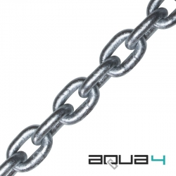Clearance AQUA4 Grade 40 Calibrated Anchor Chain - Short Ends