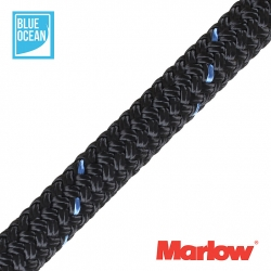 Marlow 12mm Blue Ocean Braided Dockline Mooring Warps