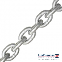 8mm DIN766 Lofrans Grade 40 Calibrated Anchor Chain