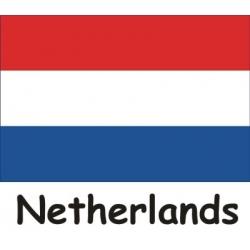 Sewn Ensign - Netherlands
