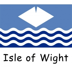 Isle of Wight Courtesy Flag - Half Yard