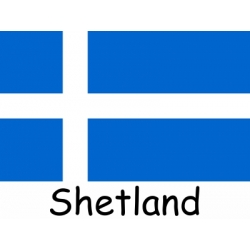 Shetland Courtesy Flag - Half Yard