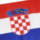 3/4 Yard Courtesy Flag - Print detail_Croatia