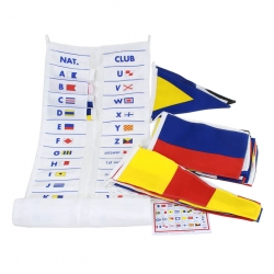 Signal Code Flag Set with Wallet