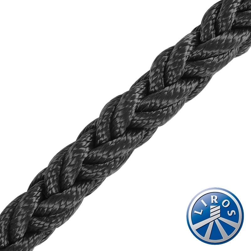 100 Metre Reel Deal - LIROS Octoplait Multifilament Polypropylene - Black