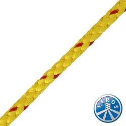 LIROS 6mm 8 Plait Polypropylene Floating Safety Rope