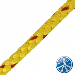 LIROS 8mm 8 Plait Polypropylene Floating Safety Rope