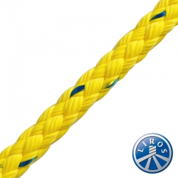LIROS 10mm 8 Plait Polypropylene Floating Safety Rope article 01072