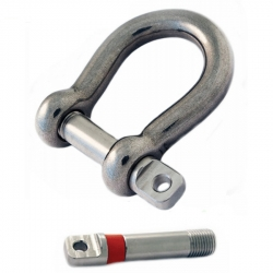 Petersen Stainless Steel Bow Shackle Shakeproof Pin