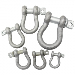 Jimmy Green Galvanised Pin Bow Shackles