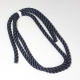 Clearance LIROS 3 Strand Polyester NAVY - 20mm - 3metres