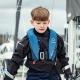 Crewsaver Crewfit 150N Junior Lifejacket - Blue, as worn