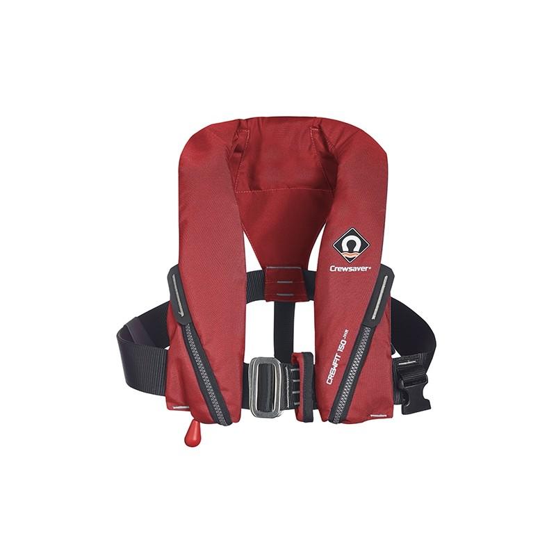Crewsaver Crewfit 150N Junior Lifejacket - Red